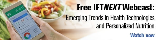 Watch the Webcast: Emerging Trends in Health Technologies and the Promises of Personalized Nutrition