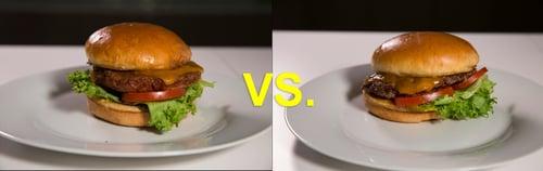 Beyong Burger v Beef Burger